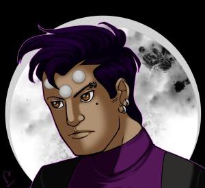 Darkly as Brainiac 5