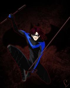 Emil as Nightwing