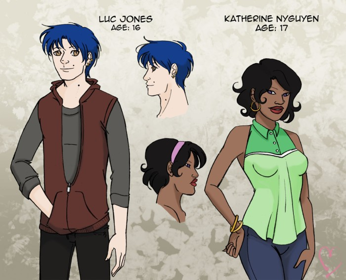 New Characters: Luc and Katherine!